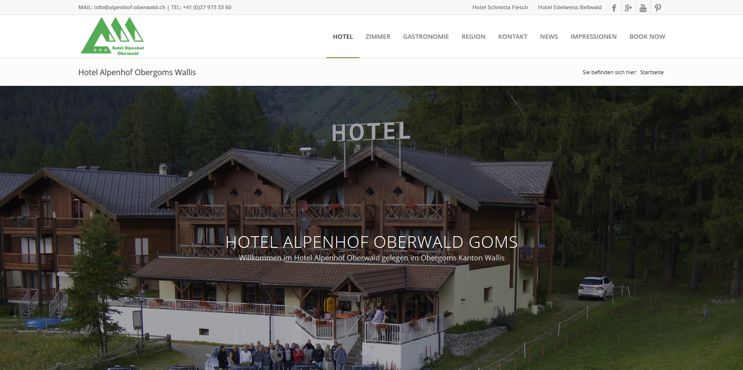 Alpenhof Homepage